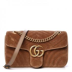c4a797d98 Bolsa Gucci Grande Marrom C - Bolsas Femininas no Mercado Livre Brasil