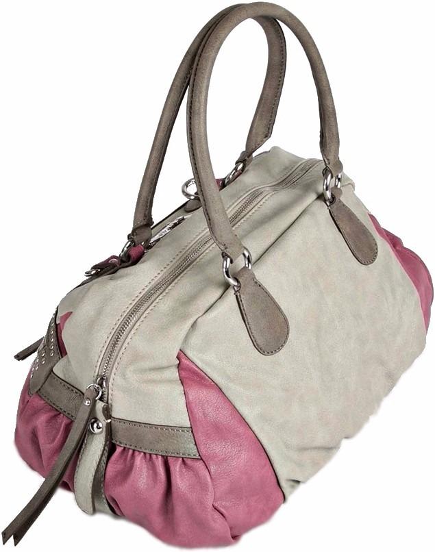 Bolsa Feminina De Couro Guess : Bolsa original guess cinza lil?s couro nova feminina r