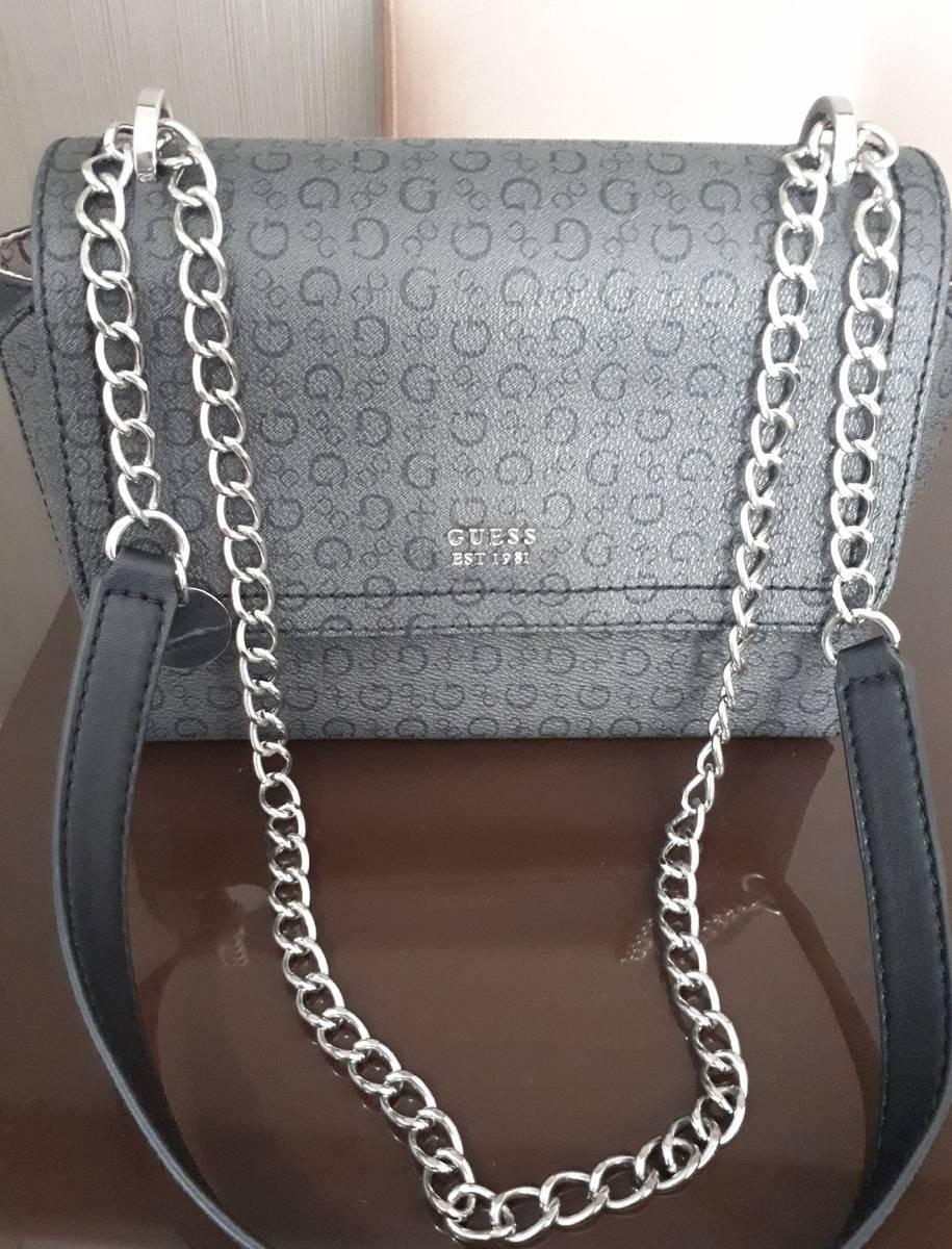18ee1d2c5 Bolsa Guess Crossbody Monograma 100% Original - R$ 295,00 em Mercado ...