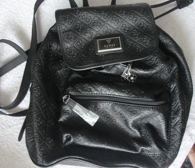 Bolsa Estilo Saco Preta : Bolsa guess estilo mochila preta r em mercado livre