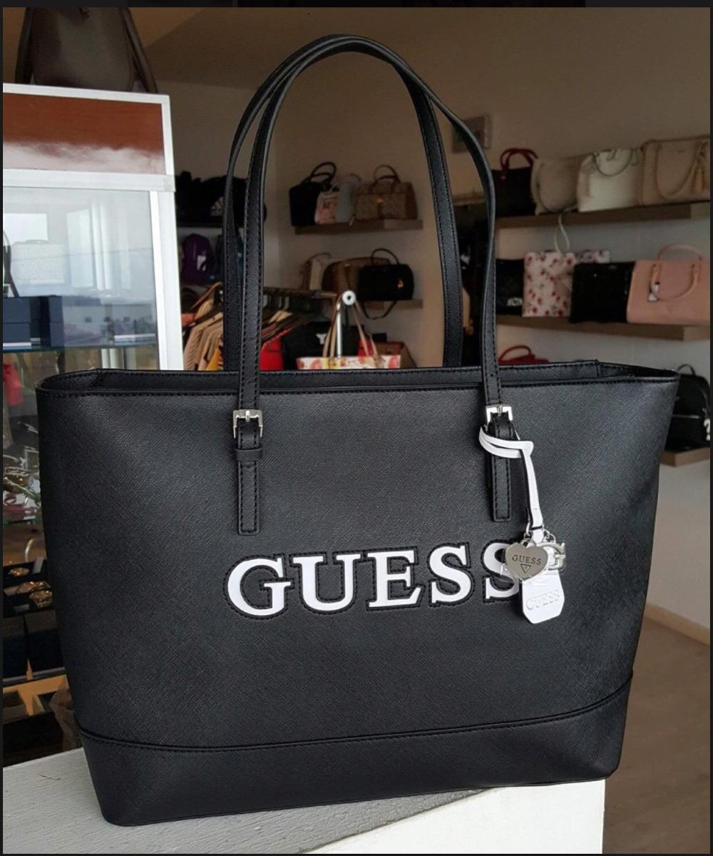 567812e0 Bolsa Guess Negra Con Cierre Envío Gratis - $ 1,949.00 en Mercado Libre