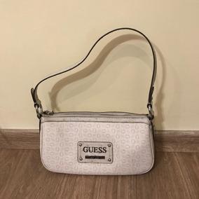 75df60005 Bolsa Guess!!importada De Orlando Fl - Bolsas de Couro Branco no ...
