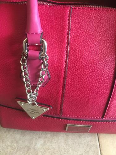 bolsa guess original color rosa