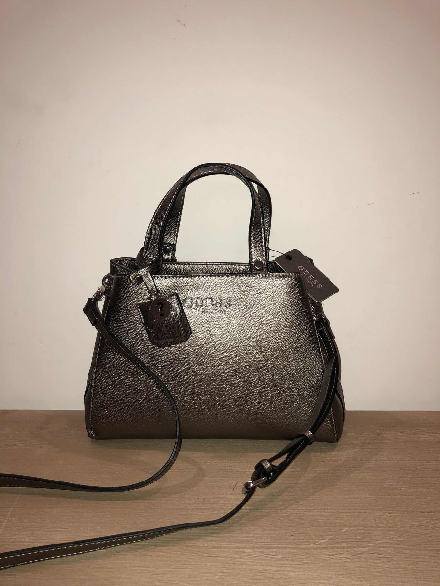 Bolsa Guess Original Pewter Rowe Bronce Vy708305 Cdije dQrhstC