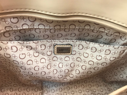 bolsa guess original tote cafe beige