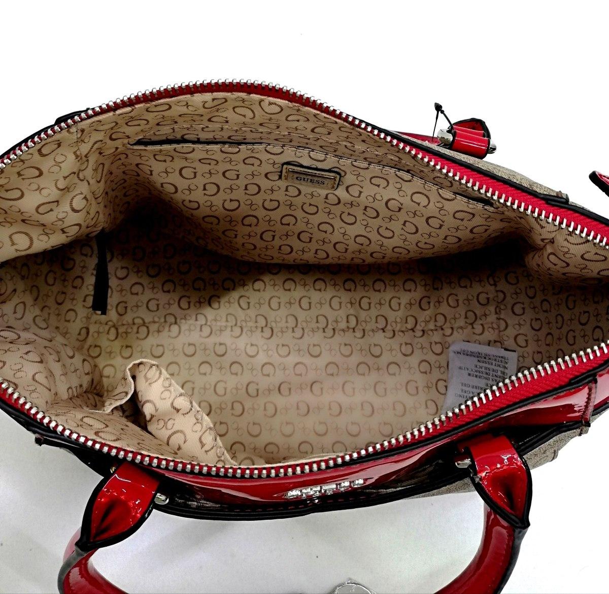 39f0e454 Bolsa Guess Roja Pequeña 100% Original Envío Gratis!! - $ 2,090.00 ...
