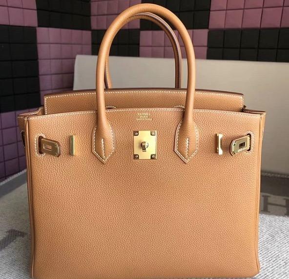 acd888979 Bolsa Hermes Birkin 35 Cm 100% Couro Original - R$ 3.300,00 em ...