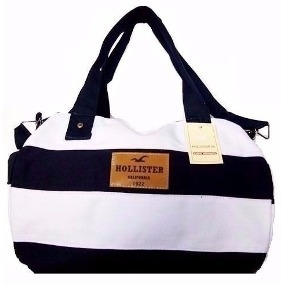 d9d06af94 Bolsa Hollister Mala De Bordo Ziper Original Mulher Feminina - R$ 80 ...