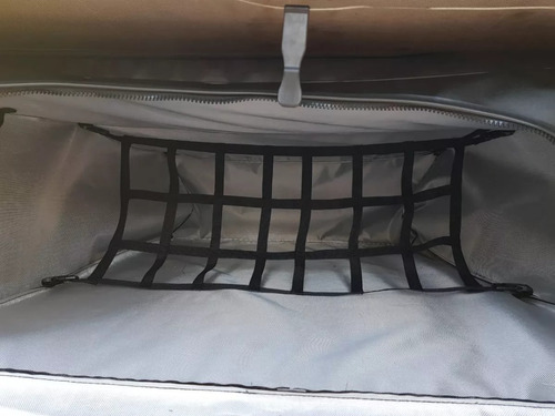 bolsa horizontal multibag para caçamba com divisória e bolsa termica s10 dupla