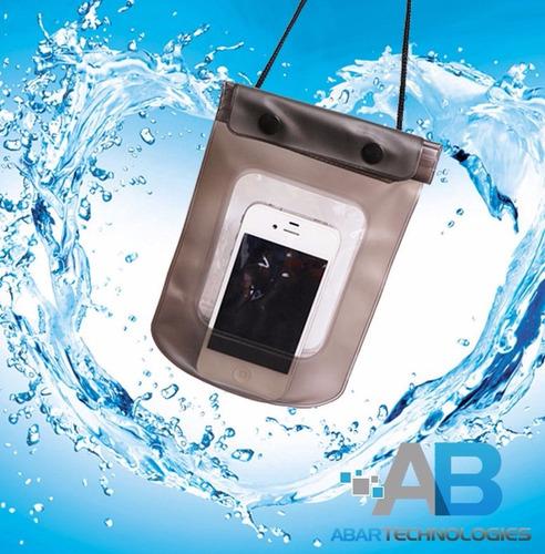 bolsa impermeable a prueba de agua para celulares