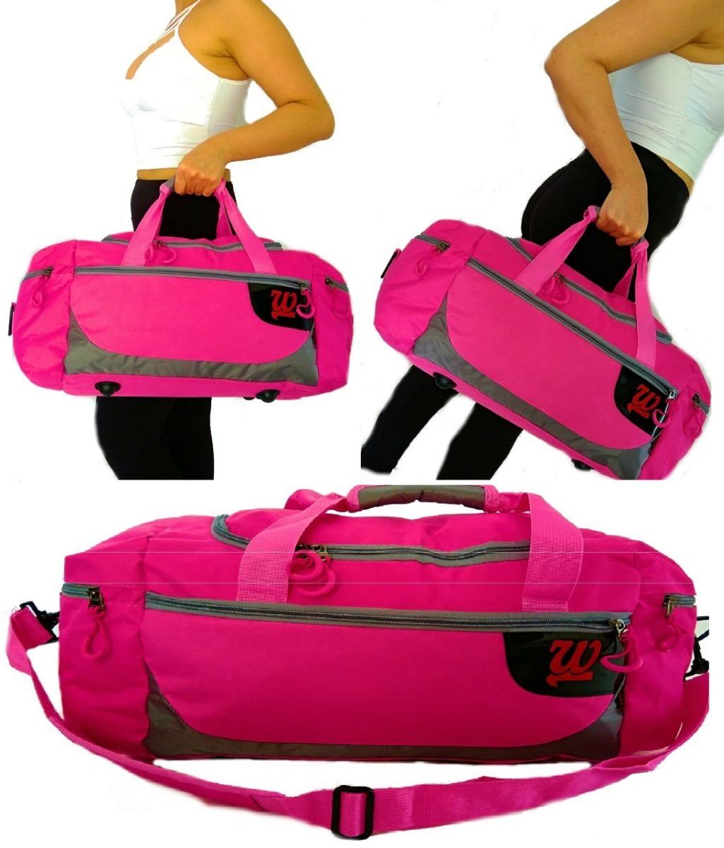 b0d694abf bolsa importada feminina de academia treino mala viagem rosa. Carregando  zoom.