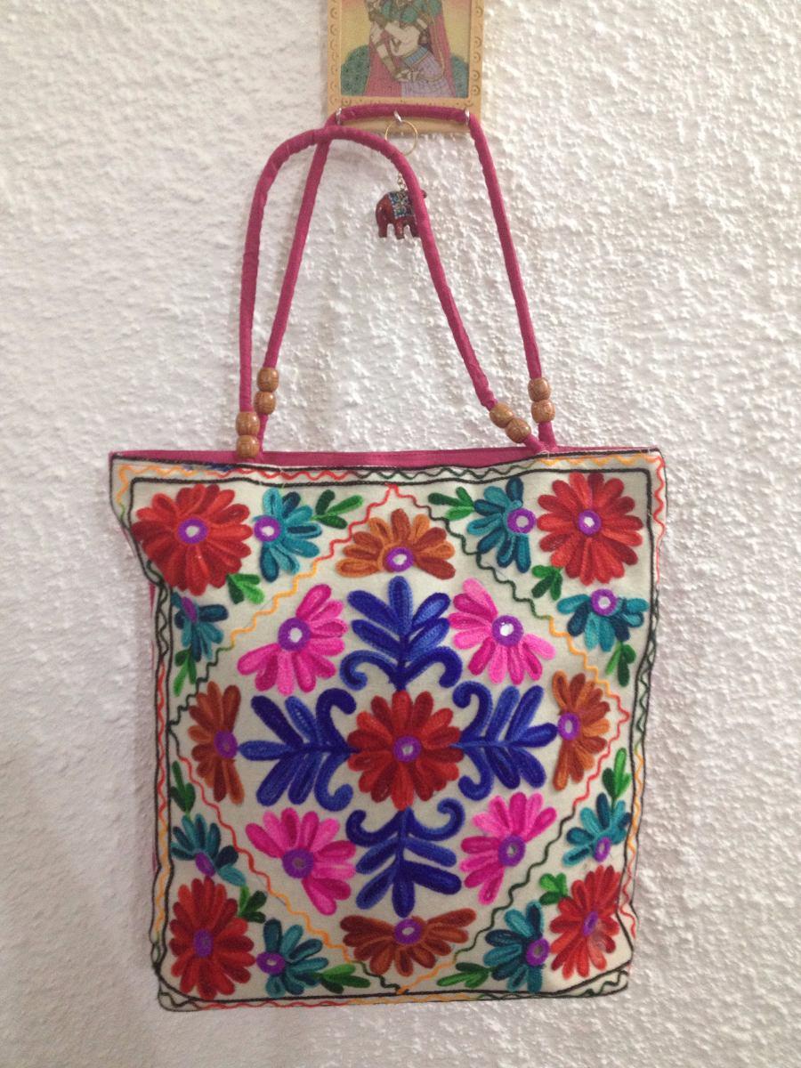 Bolsa Em Origami De Tecido : Bolsa indiana bordada bolsas indianas tecido
