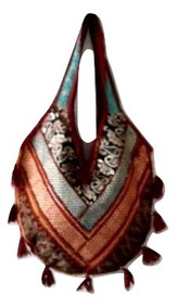 6756c0b23 Bolsa Indiana Bordada - Bolsa de Tecido Femininas no Mercado Livre Brasil