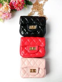 a6df4ee71 Bolsa Chanel Inspired Em Couro Branca - Bolsas no Mercado Livre Brasil