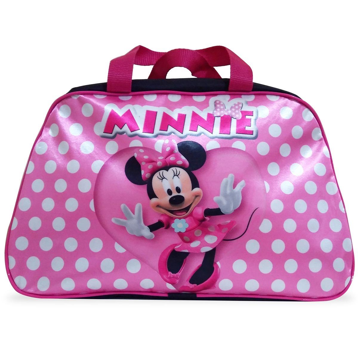 2d299b877 Bolsa Infantil Para Viagem Minnie Mouse - R$ 39,90 em Mercado Livre