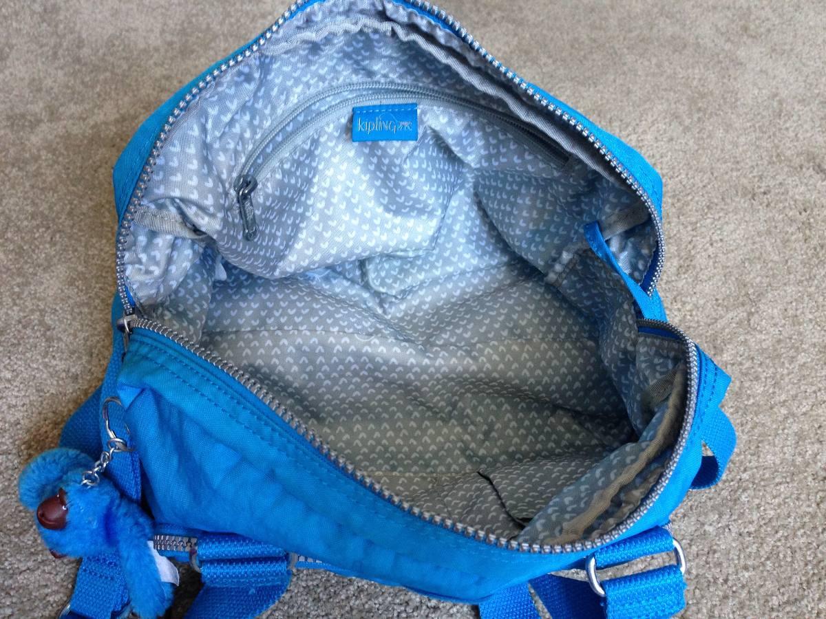 Kipling Azul Bolsa Libre Original700 En Mercado Turquesa 00 3Lq54AcRj