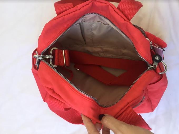 3e4c70174 Bolsa Kipling Defea, Nova,original, Vermelha - R$ 350,00 em Mercado ...