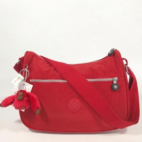 9bd66dd85 Bolsa Kipling Modelo Sally Color Cherry - $ 1,145.00 en Mercado Libre