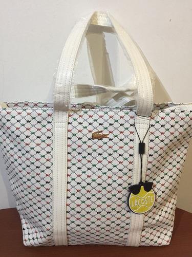 ed0f18a7337e6 Bolsa Lacoste -   600.00 en Mercado Libre