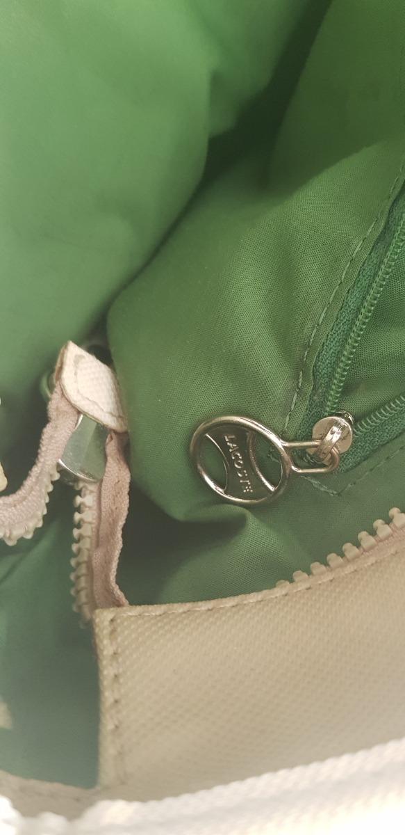 ab7ddba867633 Bolsa Lacoste Original -   600.00 en Mercado Libre