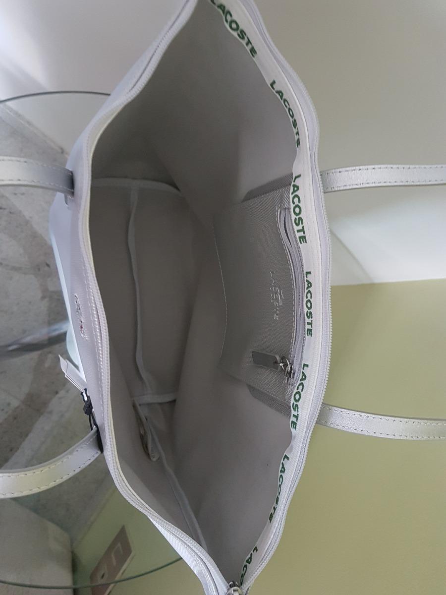 c1caae0f84d0c bolsa lacoste original prata. Carregando zoom.