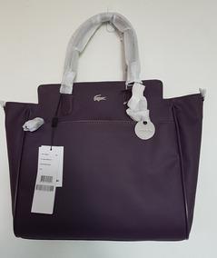 7102cd51168 Bolsa Lacoste Original Shopper Bag Nf1360