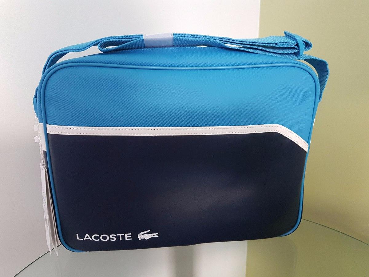 Bolsa Lacoste Sport Messenger Bag Original - R  789,00 em Mercado Livre 7eed65a3e8