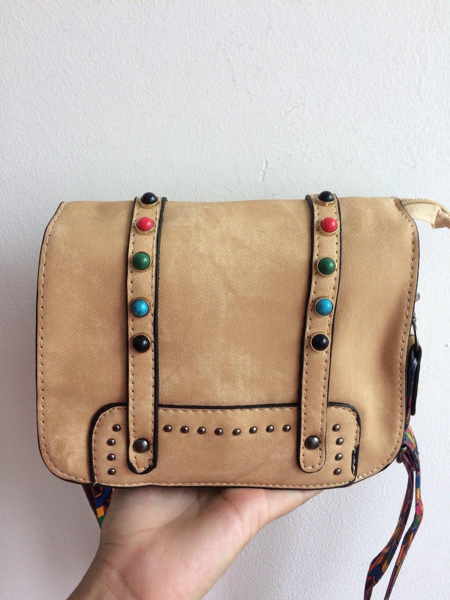 0ecace1e1 bolsa lado feminina couro sintético alça colorida pedraria. Carregando zoom.