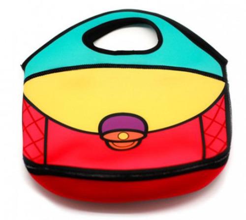 bolsa lancheira de mão kathavento