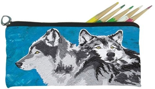bolsa lápiz pequeño salvador kitti ( lobos - paquete fogos