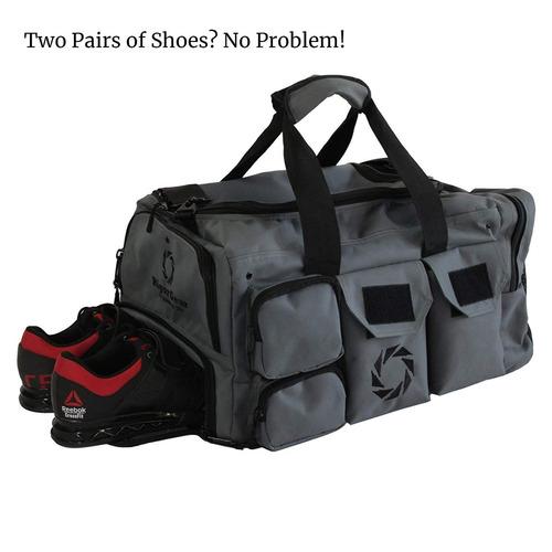 48c78a94279e54 Bolsa Large Gym Bag With Shoe Compartment - By Rigor Gear ...