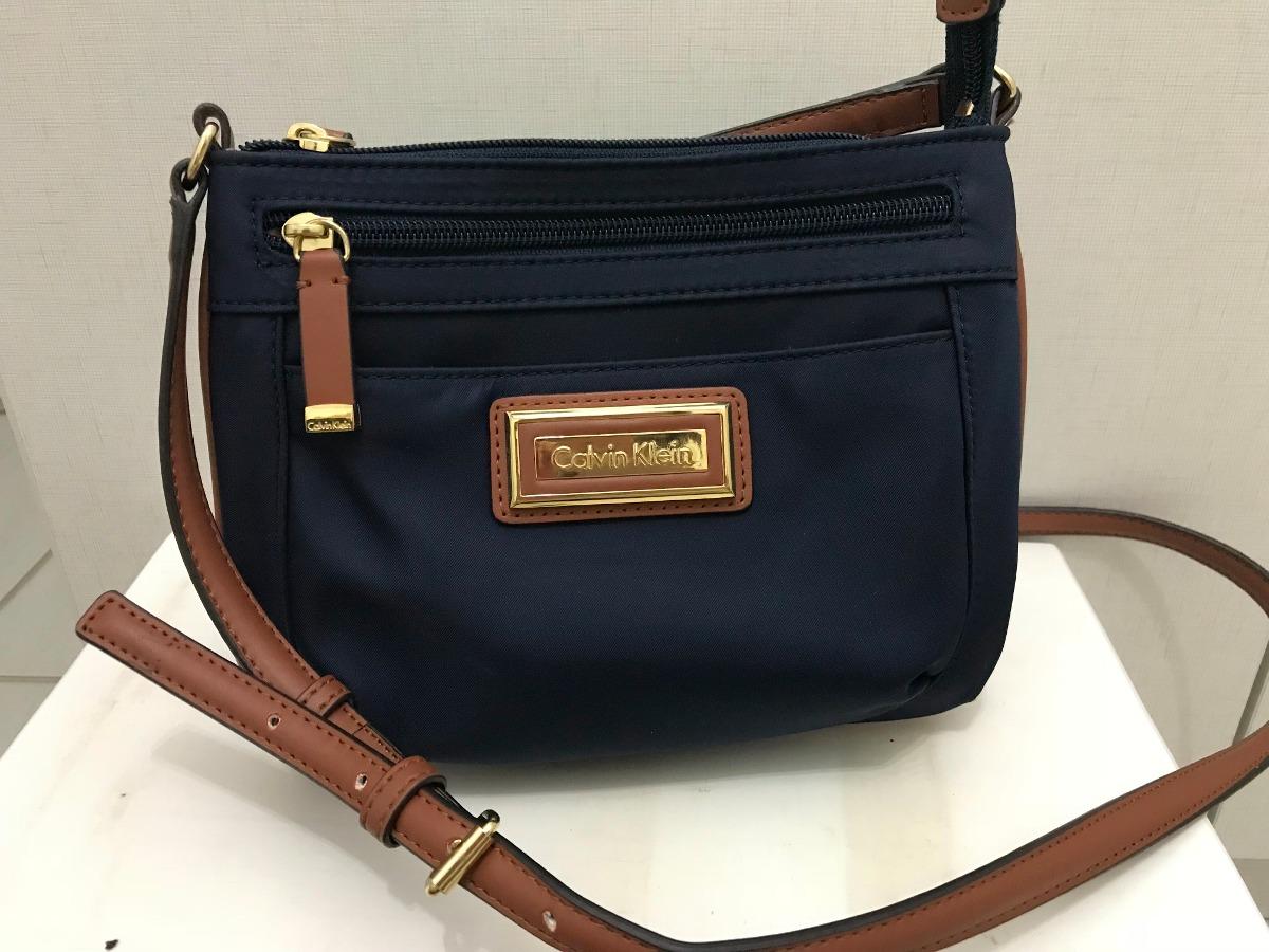 9f73d5dd7 Bolsa Lateral Calvin Klein Original Feminina - R$ 699,00 em Mercado ...