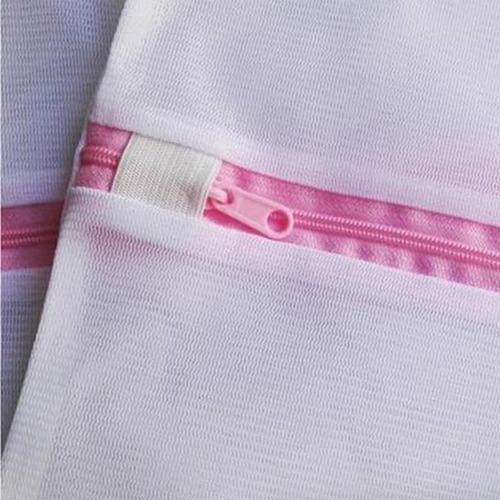 bolsa lavado ropa delicada malla lavandería 3x1