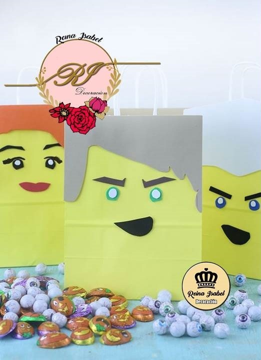 Bolsa Lego Ninjago Cumpleanos Baby Shower Candy Bar Regalo 26 62