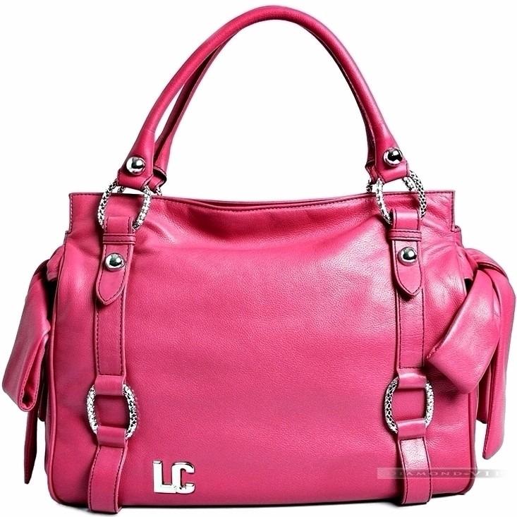 8596f7da3 Bolsa Lenny E Cia Rosa Couro Legítimo Pink Laço Grife Nova - R ...