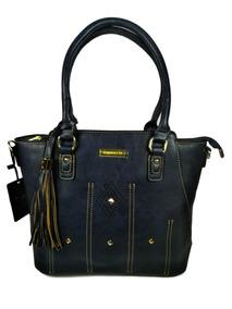 d881d00c7 Bolsa De Franja Da Marca Borboleta - Bolsa Outras Marcas Azul escuro ...