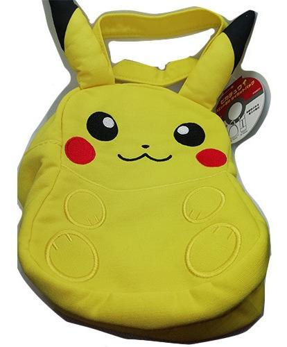 bolsa lonchera de pikachu peluche pokemon center