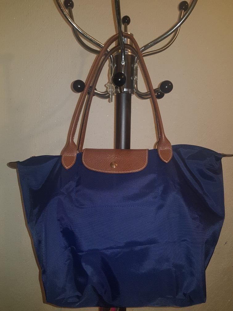 mas bajo precio sitio de buena reputación gran descuento de 2019 Bolsa Longchamp Azul Marino Lepiage L