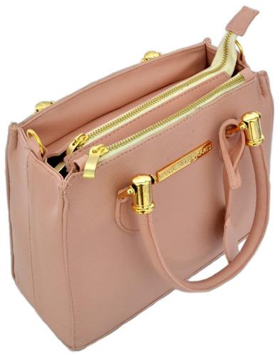 bolsa lorena media feminina  de mão e lateral varias cores!