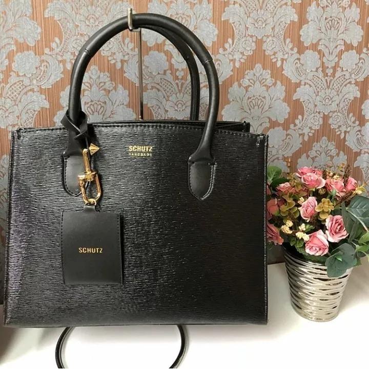 36d3a79d8 Bolsa Lorena Schutz Tote Tag Bag Inspired Super Promoção - R$ 120,00 ...