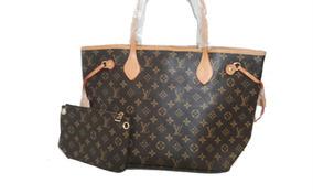 7b0b91fa1 Bolsa Sacola Femininas Louis Vuitton - Bolsas de Couro Marrom no ...