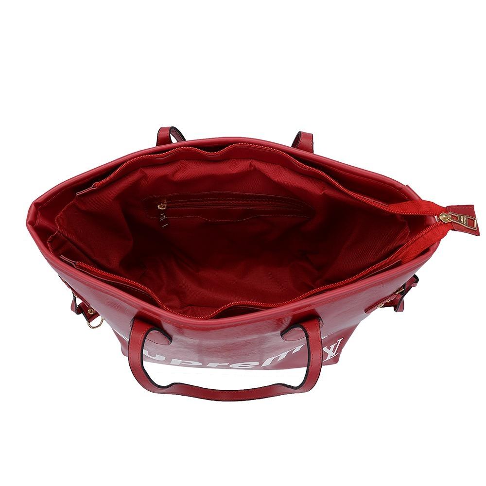 32e031314 Bolsa Nova Coleção Louis Vuitton Supreme Full Lançamento - R$ 119,99 ...