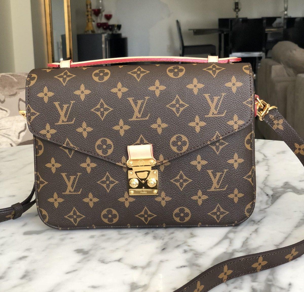 470135fc468 Bolsa Louis Vuitton Pochette Metis Original Fotos Reais - R  1.899 ...