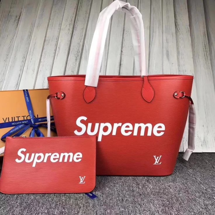 dc3eb0c89 Bolsa Louis Vuitton Neverfull Supreme - Nova - R$ 399,00 em Mercado ...