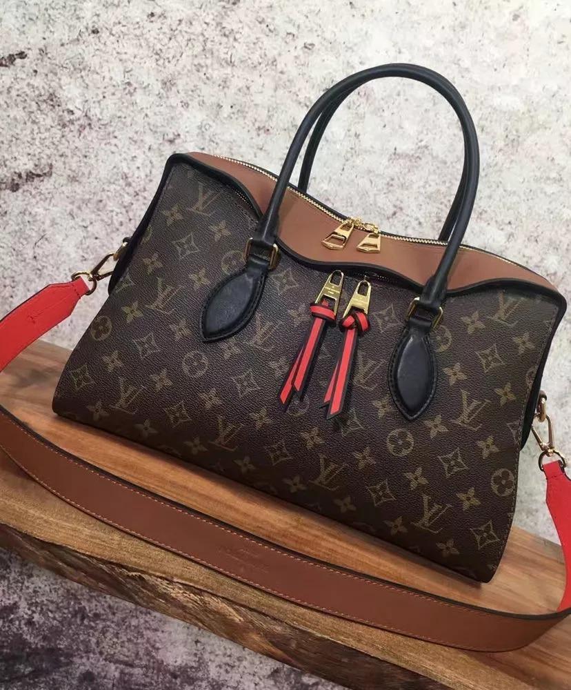 d79ca7b45 Bolsa Louis Vuitton Tuileries Monogram Brown - Frete Grátis - R ...