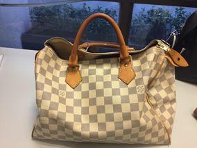 d83f0da26 Bolsa Louis Vuitton Speedy Damier Azur - Bolsas Louis Vuitton Con ...