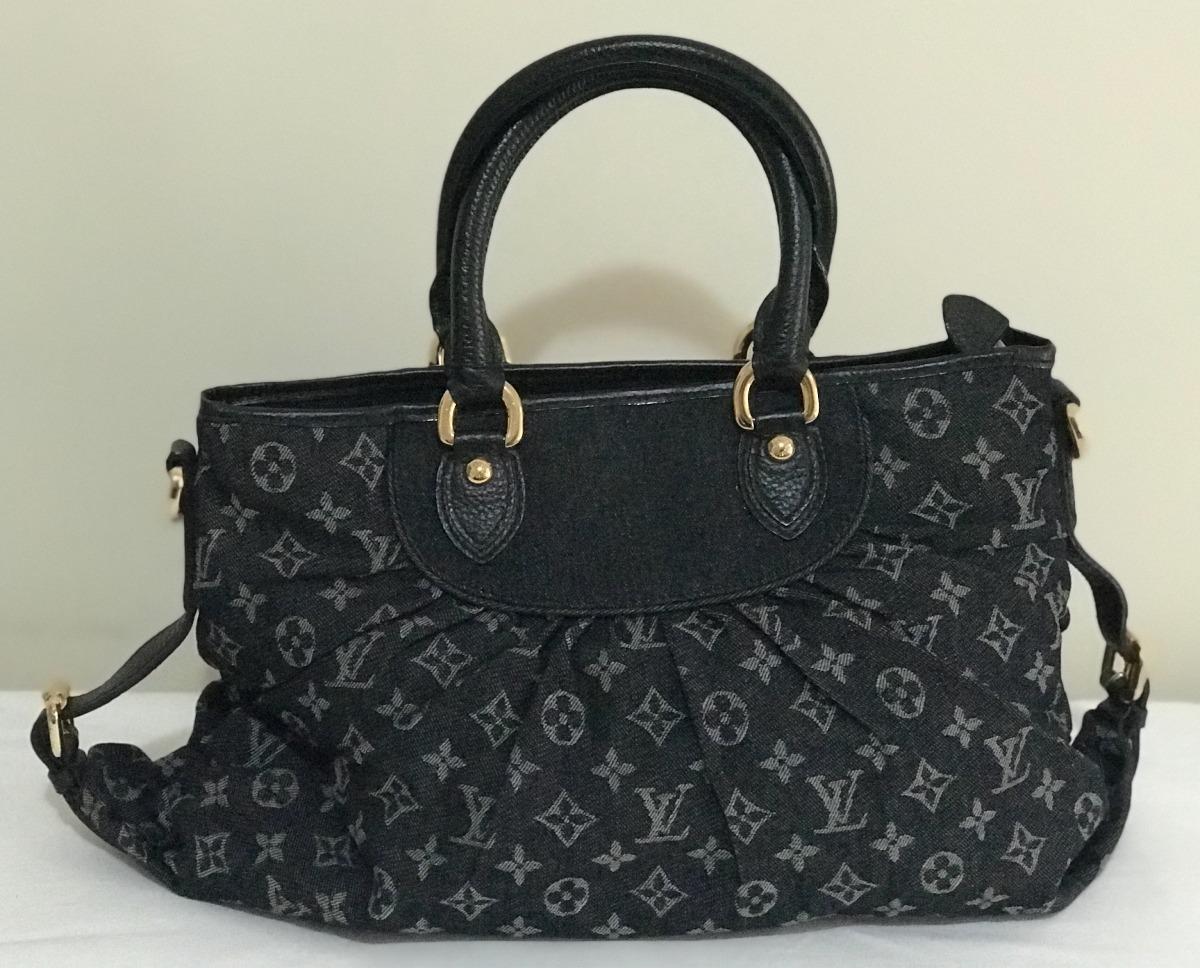 63b86bb37 Bolsa Louis Vuitton Denim Noir - R$ 1.800,00 em Mercado Livre