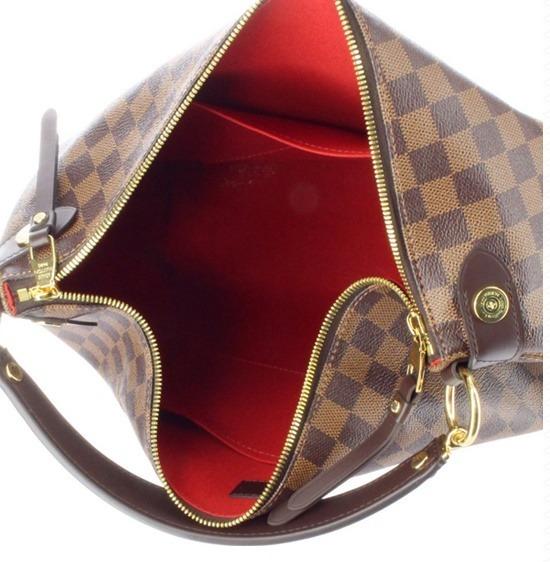 d57b37db2 Bolsa Louis Vuitton Duomo Hobo Damier Luxuosa - R$ 1.599,99 em ...
