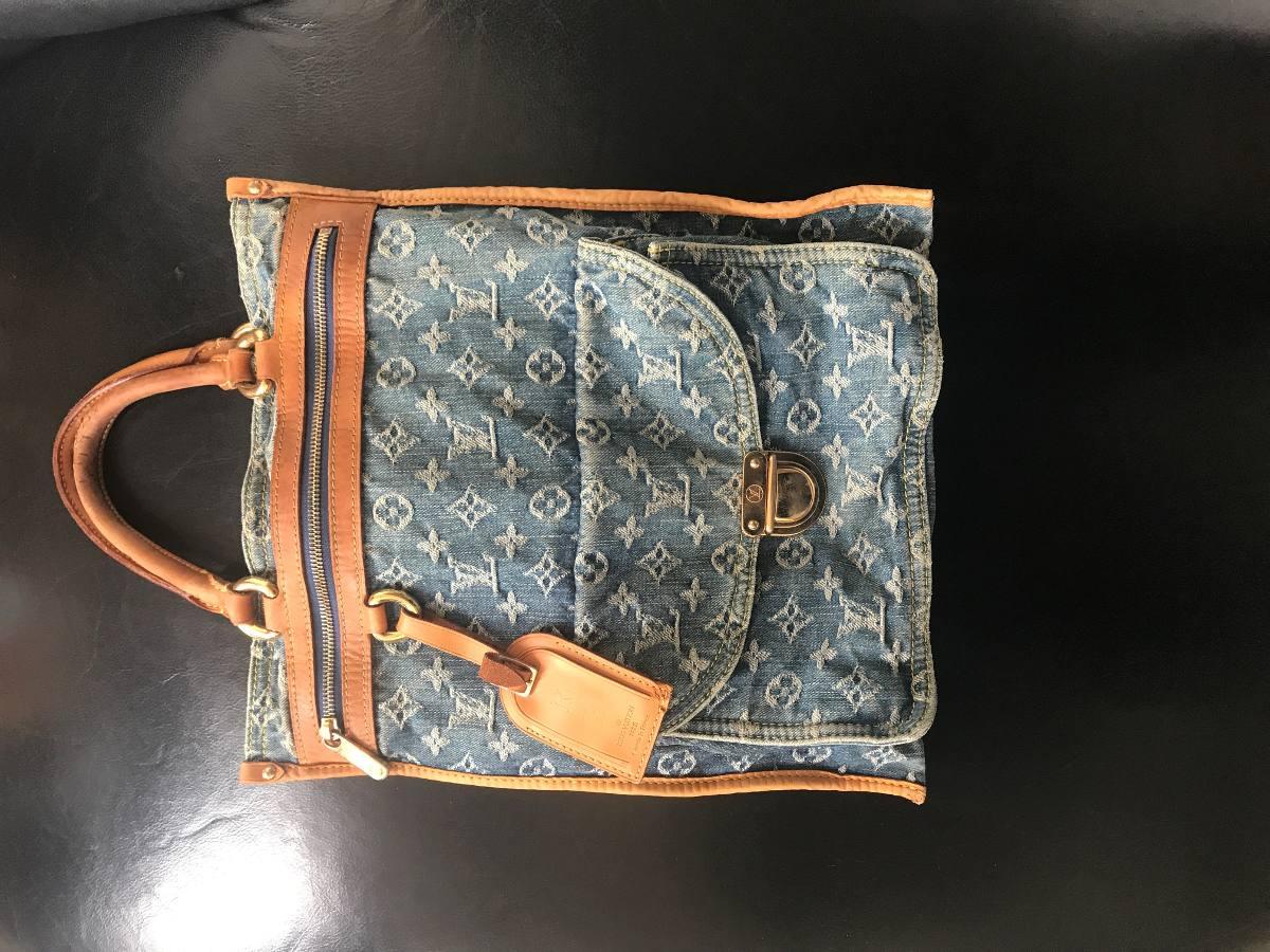 d7dfe57c9 Bolsa Louis Vuitton Jeans - R$ 1.000,00 em Mercado Livre