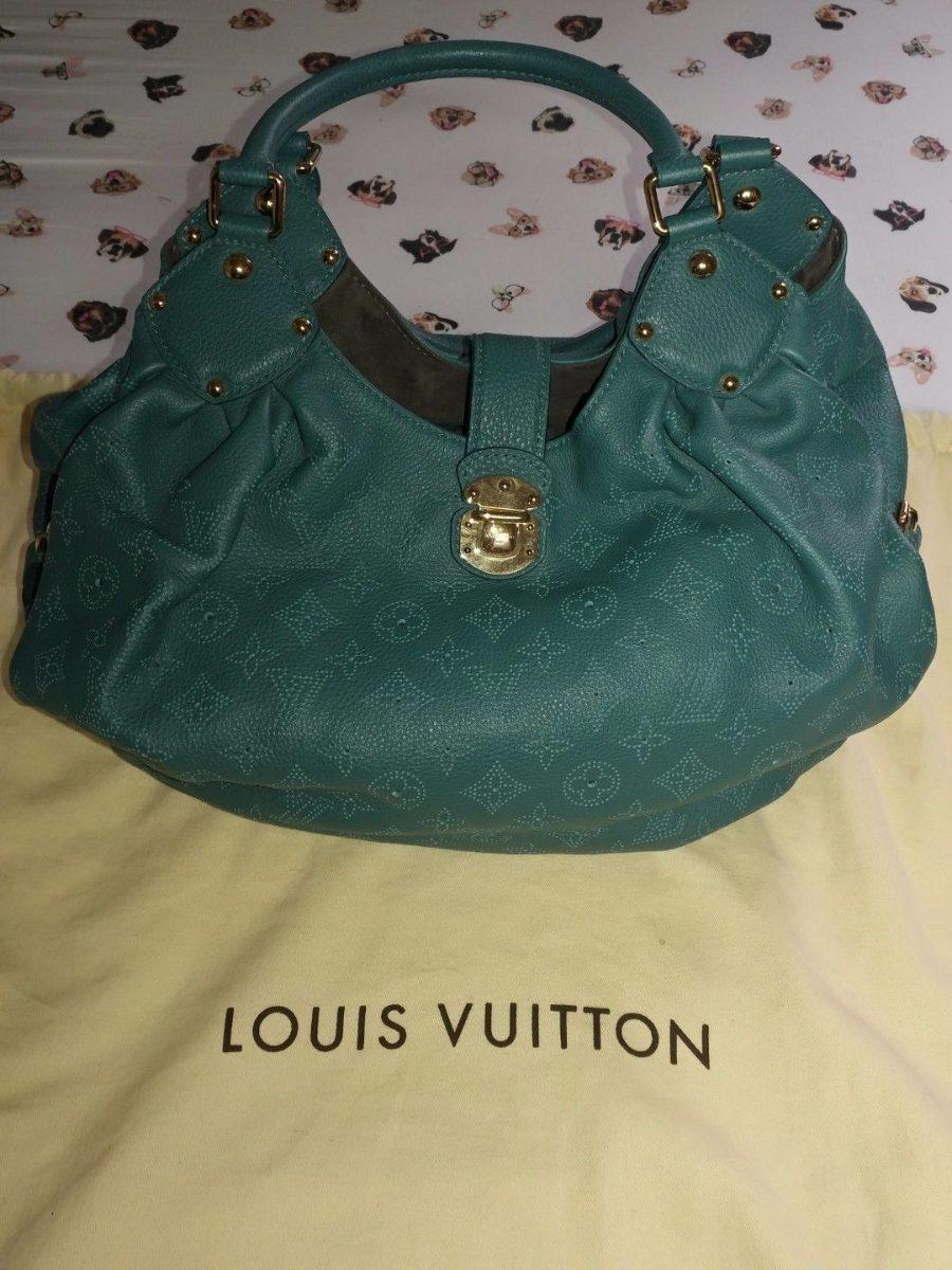 1c383e3eb Bolsa Louis Vuitton Mahima Bolsa Verde 100% Original. - R$ 9.300,00 ...